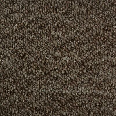 Monet Brown Loop Pile Quality Feltback Carpet Any Size Cheap 4m Wide