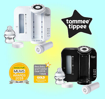 Tommee Tippee Closer to Nature Perfect Prep Machine - Black or White