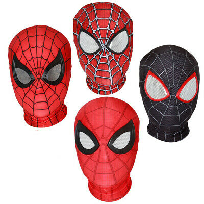 Spider Man Far From Home Mask Spider-man into the spider verse Mask face shell