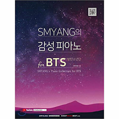 SMYANG's Piano Collection for BTS Piano Collection BTS Melody +Free Gift