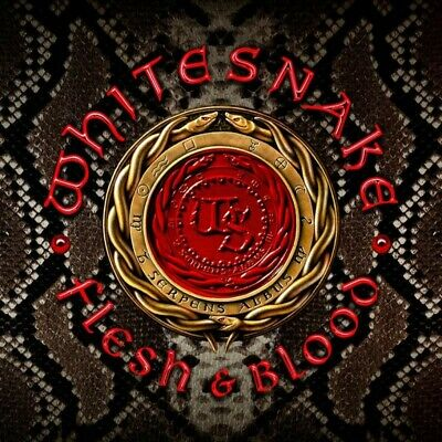 Whitesnake - Flesh & Blood: Deluxe Edition ( CD/DVD 2019 ) Hard rock. Album