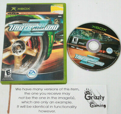 USED Need for Speed: Underground 2 Microsoft XBOX (NTSC)
