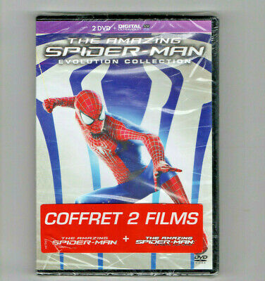Dvd + Digital Ultraviolet The Amazing Spider-Man + Le Destin D'un Heros Neuf
