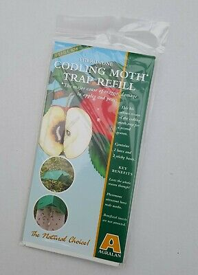 Agralan Pheromone Codling Moth Trap Refill Natural Choice Maggot Apple Pears
