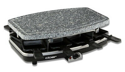 Cloer 6430 raclette grill 8 person(s) Black,Grey 1100 W