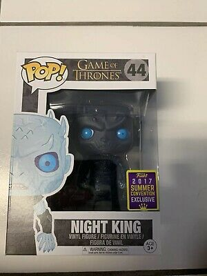 Funko Pop! Game of Thrones #44 Translucent Night King SDCC Exclusive 2017 New