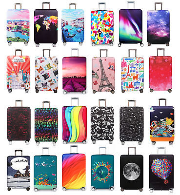 """Luggage Cover Elastic Dustproof Suitcases Trolley Case 18""""-32"""" Protector Covers"""
