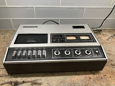 Vintage PANASONIC RS-270US Stereo Audio Cassette TAPE DECK PLAYER Recorder
