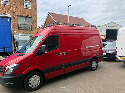 NO ADDED VAT!! 2014 Mercedes Sprinter MWB 313CDI High Roof Automatic Air-Con