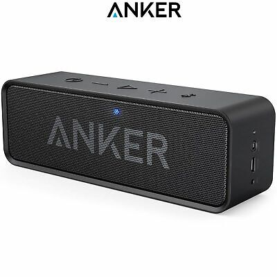 ANKER SoundCore Portable Bluetooth Speaker 24H Playtime 6W Dual Driver Black