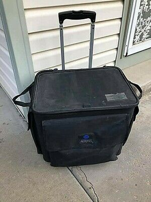 Creative Memories Rolling Cart Tote with Telescoping Handle Good USED Condition