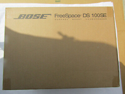 Bose Professional FreeSpace DS 100SE Loudspeaker (White) Each Brand New