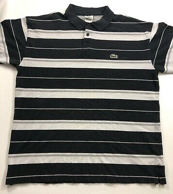 Taille 10Picclick Lacoste Xxl Manches Fr 11 Longues Polo Raye Eur NOP08nwkX