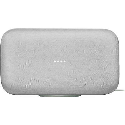 Google Home Max Smart Assistant Speaker WiFi Bluetooth Chalk