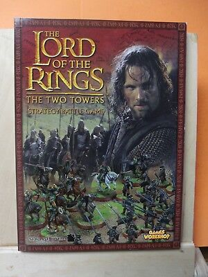 (112)Gw Lord Of The Rings Book (The Two Towers) Strategy Battle Game