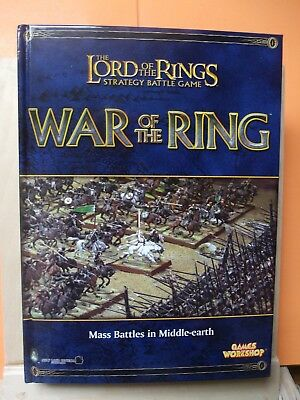 (106) Gw Lord Of The Rings (Strategy Battle Games) Rule Book