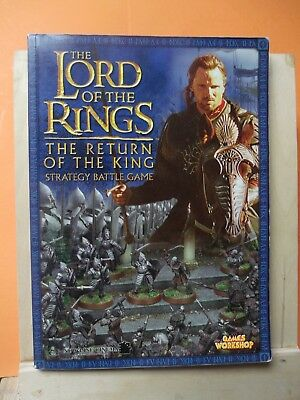 (109)Gw Lord Of The Rings Book (Return Of The King) Strategy Battle Game