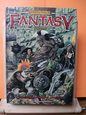 (130)Gw Warhammer Fantasy Role Play(A Grim Of Perilous Adventure)Hardcover