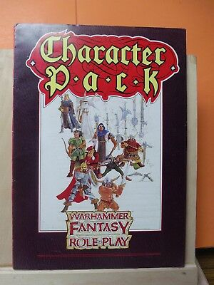 (131)Gw Warhammer Fantasy Role Play Book (Character Pack)