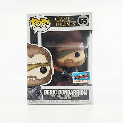Funko Pop! Game of Thrones Beric Dondarrion NYCC 2018 Exclusive Official Sticker