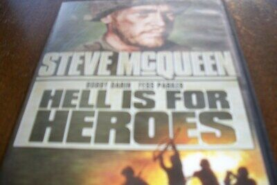Hell is for Heroes, DVD movie, Starring Steve McQueen, tested good