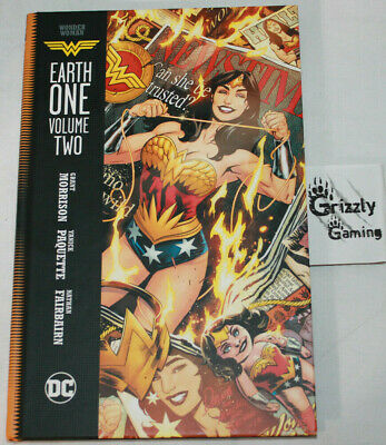 DC Wonder Woman Earth One Volume 2 HC TPB -Canadian Seller-