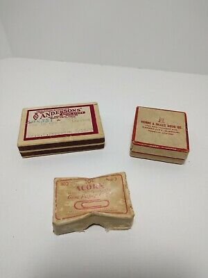 Vintage Pill boxes prescription boxes advertising Display Pharmacy