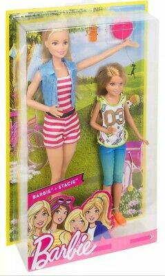 Barbie Sisters Barbie and Stacie Dolls Pack Giftset Mattel