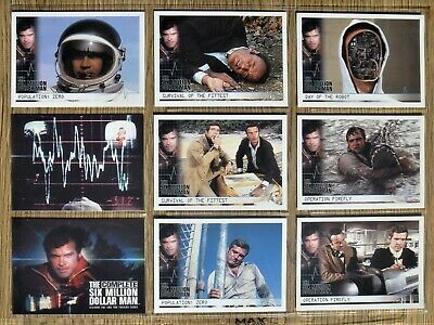 The Six Million Dollar Man Rittenhouse Archives Trading Cards 72 Card Set