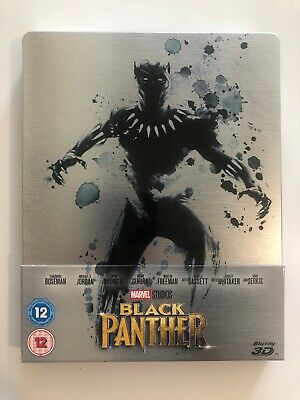 Black Panther 3D Blu-ray Steelbook. Like New / Open but in excellent condition