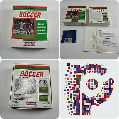International Soccer A Microdeal Game for the Commodore Amiga tested & working