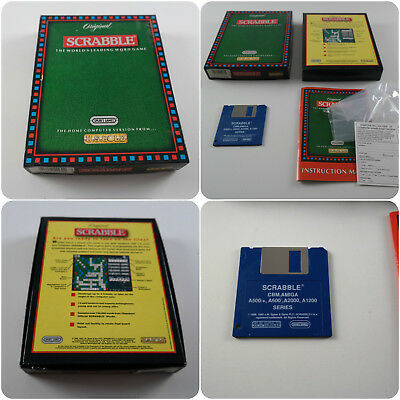 Original Scrabble A US Gold Game for the Commodore Amiga Computer tested&working