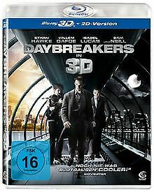 Daybreakers [3D Blu-ray + 2D Version] de Michael Spierig | DVD | état neuf