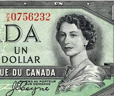 Canada 1954 -   $1  P/A DEVIL'S FACE  BEATTIE/COYNE