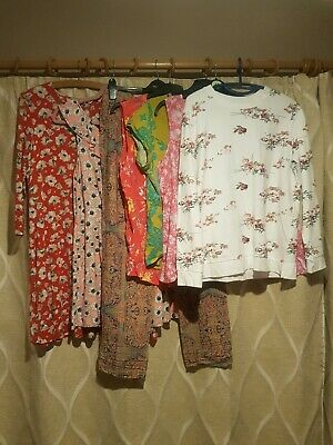 Ladies Womens Size 16-18 Spring Summer Clothes Bundle Per Una,Bonmarche,M&S