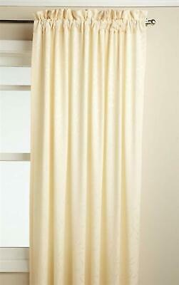 "Whitfield Curtain Panel, 52"" wide by 63"" long, Ivory, Lorraine"