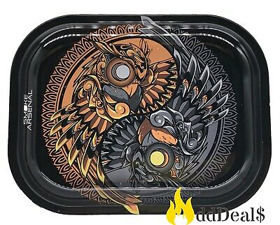 Tobacco Rolling Tray (Yin and Yang) 7x5