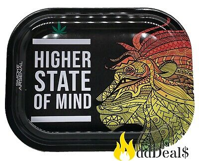 Tobacco Rolling Tray (State of Mind) 7x5