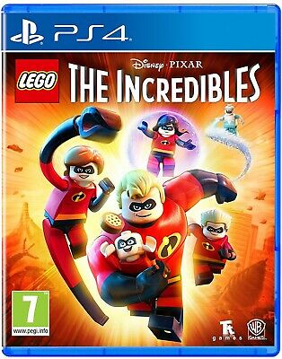 LEGO The Incredibles - Sony PlayStation 4 - PS4 - New Sealed PEGI UK