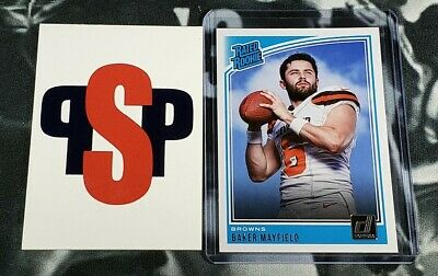 Baker Mayfield 2018 Panini Donruss Cleveland Browns Rated Rookie