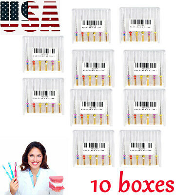 10xDental Endo Root Canal Niti Rotary Files Engine SX-F3 25MM MIXED Oral Care US