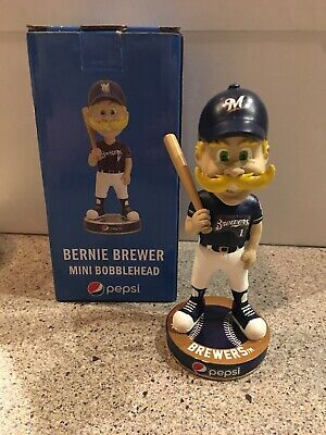 2019 Pepsi Bernie Brewer Milwaukee Brewers Mini Bobblehead Mascot Bobble