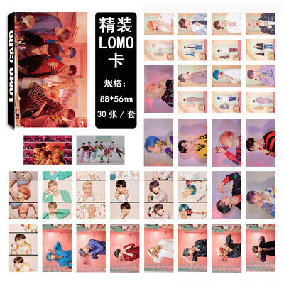 Kpop 30pc/set BTS Map of The Soul Paper Lomo Card New Album Photocard Poster