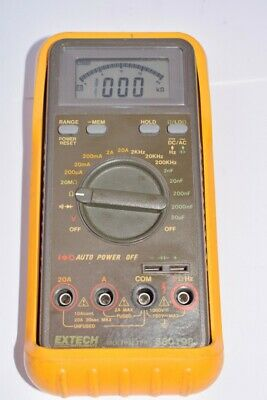 Extech Instruments, Part: 380198 Multimeter - Tested Working
