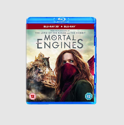 Mortal Engines 3D + Blu-ray [Region free]