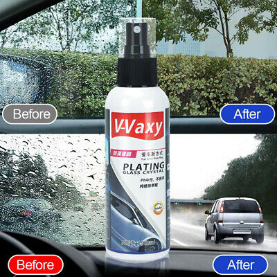 Automotive Glass Coating Agent Rainproof Agent Glass Rain Mark Oil Film Remover!