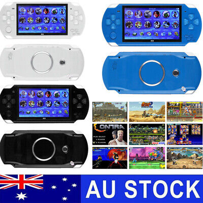 4.3'' Portable PSP Handheld Video Game Console Player 8GB 10000 Games Built-In