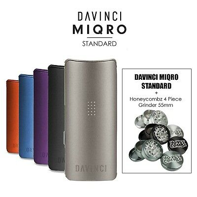 Davinci MIQRO Kit Standard Bundle + FREE 55mm Grinder (All Colors) FREE Shipping