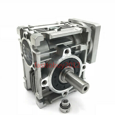 30:1 Worm Gearbox NMRV030 Nema23 Speed Reducer 11mm Input for 57 Stepper,US