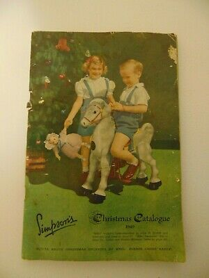 1949 Simpsons Christmas Catalogue 6 By 9 Inches Originally 168 Pages